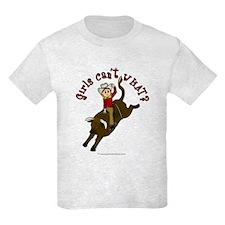 Light Bull Riding T-Shirt