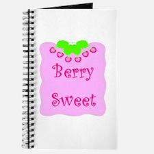 Berry Sweet Journal