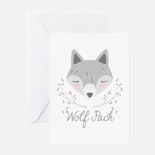 Wolf Pack Greeting Cards