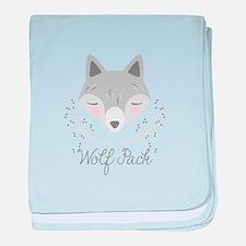 Wolf Pack baby blanket