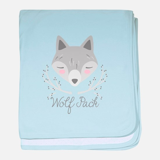 Wolf Pack baby blanket