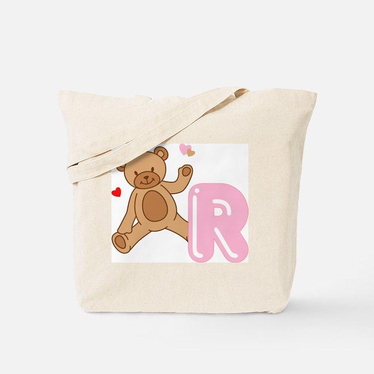 Cute Alphabet initials Tote Bag
