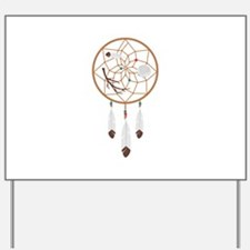 Dream Catcher Yard Sign