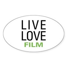 Live Love Film Decal