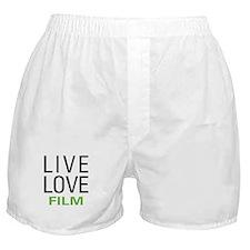 Live Love Film Boxer Shorts