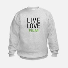 Live Love Film Sweatshirt