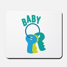 Baby Key Ring Mousepad