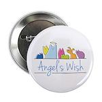 """Angel's Wish 2.25"""" Button"""