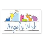 Angel's Wish Sticker (Rectangle)
