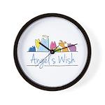 Angel's Wish Wall Clock