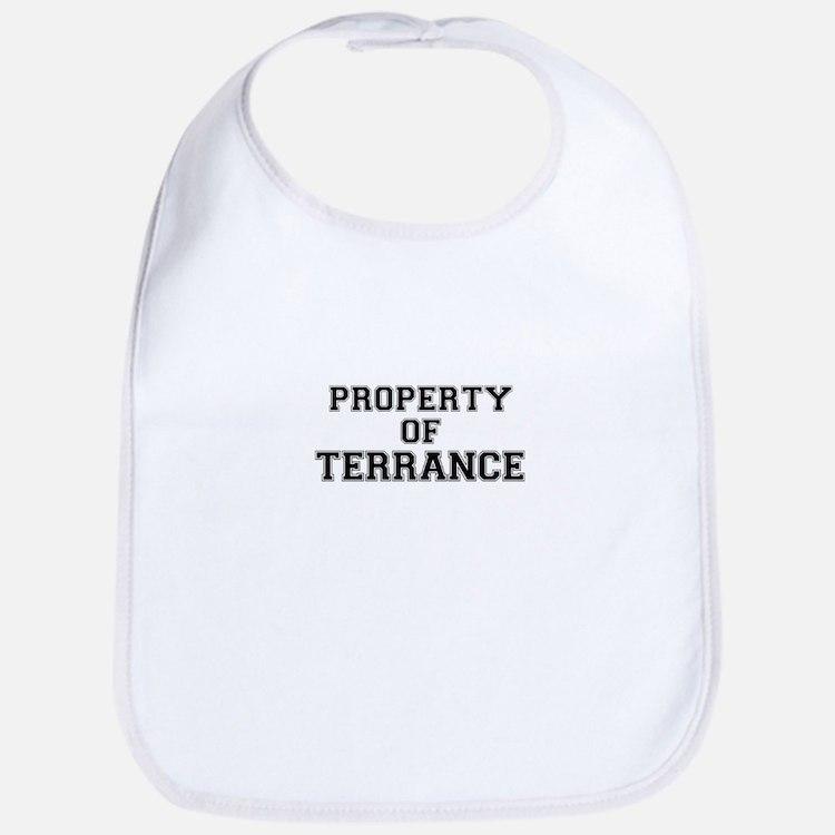 Property of TERRANCE Bib