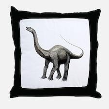 Apatosaurus Throw Pillow