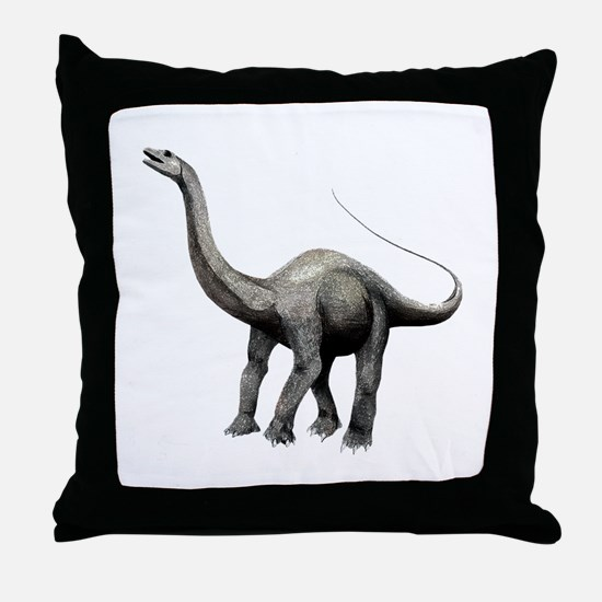 Apatosaurus Throw Pillow