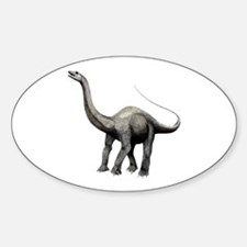 Apatosaurus Oval Decal