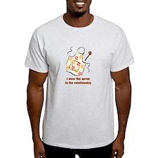 I wear the apron T-Shirt