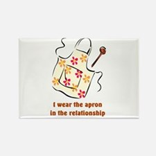 I wear the apron Rectangle Magnet (100 pack)