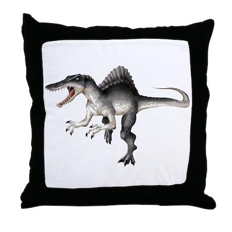 Espinosaurus Throw Pillow