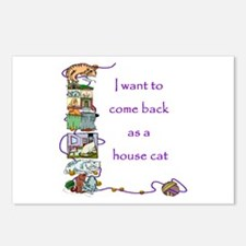 House Cat  Postcards (Package of 8)