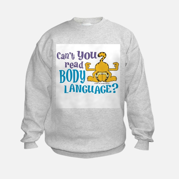 Body Language Garfield Sweatshirt