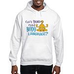 Body Language Garfield Hooded Sweatshirt