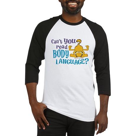 Body Language Garfield Baseball Jersey