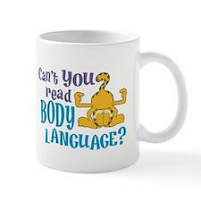Body Language Garfield Mug