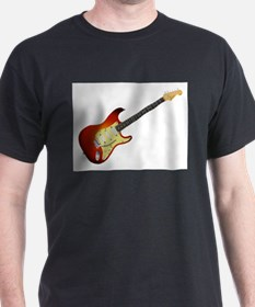 Sunburst Electric Guitar T-Shirt