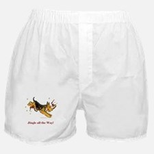 Welsh Terrier Holiday Dog! Boxer Shorts