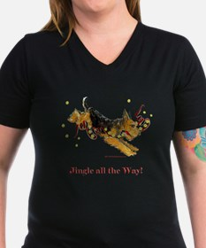 Welsh Terrier Holiday Dog! Shirt