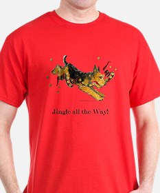 Welsh Terrier Holiday Dog! T-Shirt