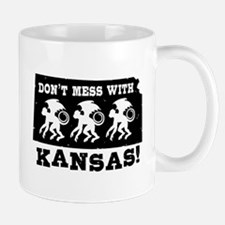 Don't Mess With Kansas Mug