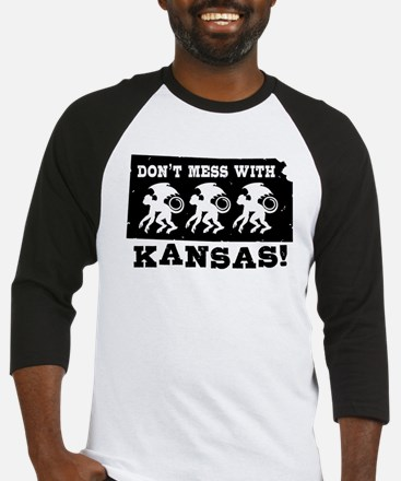 Don't Mess With Kansas Baseball Jersey