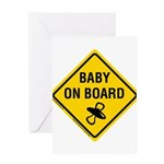 Baby on Board Greeting Card