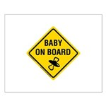 Baby on Board Small Poster