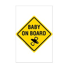 Baby on Board Posters