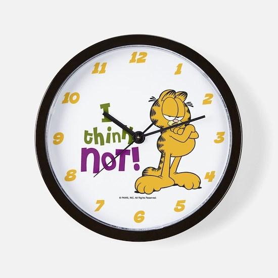 I think NOT! Garfield Wall Clock