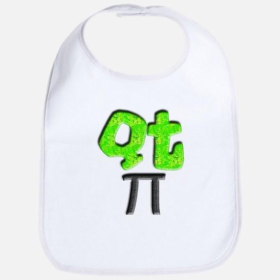 QT Pi (Cutie Pie) Bib for Science Geeks
