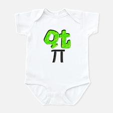 QT Pi (Cutie Pie) Infant Bodysuitfor Science Geeks
