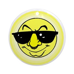 Cool Shades Sun Keepsake (Round)