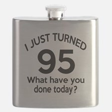 I Just Turned 95 What Have You Done Today ? Flask