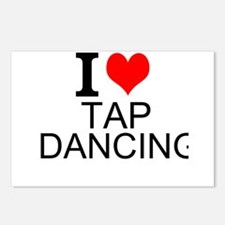 I Love Tap Dancing Postcards (Package of 8)
