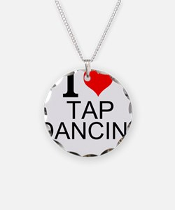 I Love Tap Dancing Necklace