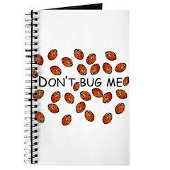Don't ladybug me Journal