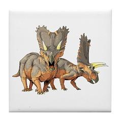 Pentaceratops Tile Coaster