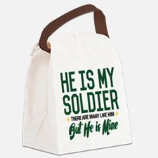 He is my Soldier Canvas Lunch Bag