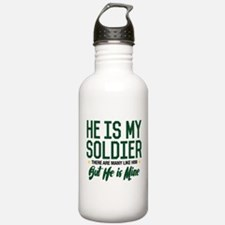 He is my Soldier Water Bottle
