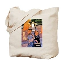 Japanese Noble Woman Tote Bag