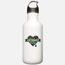 Army Personalized Hear Water Bottle