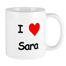 I Heart Sara Mug