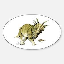 Styracosaurus Oval Decal